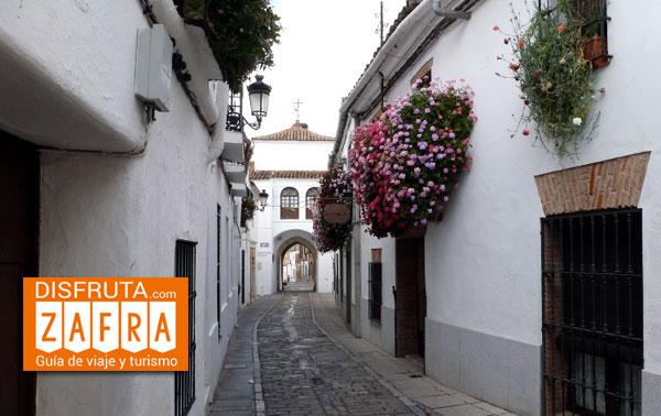 Calle de Jerez en Zafra