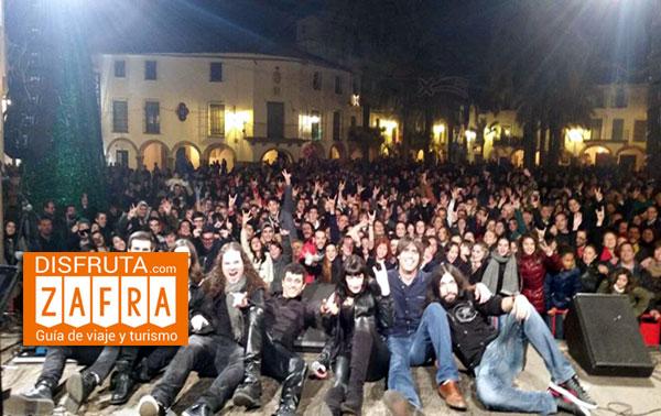 concierto in rock en Zafra