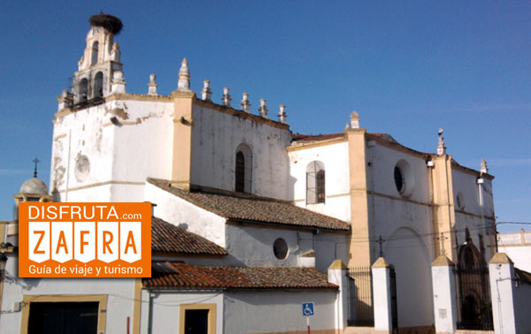 Iglesia del Rosario en Zafra