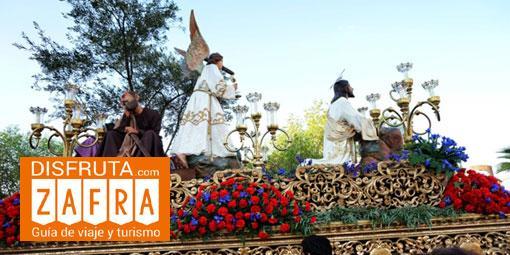 Procesión de Jesús orando en el huerto